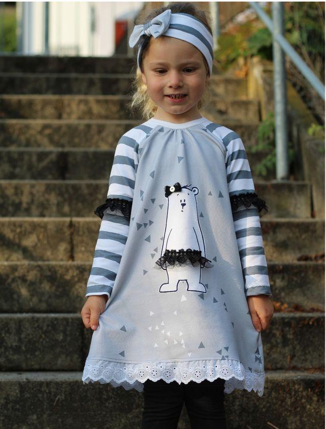 Produktfoto von Miss Granny zum Nähen für Schnittmuster Tunika-Kleid Felina