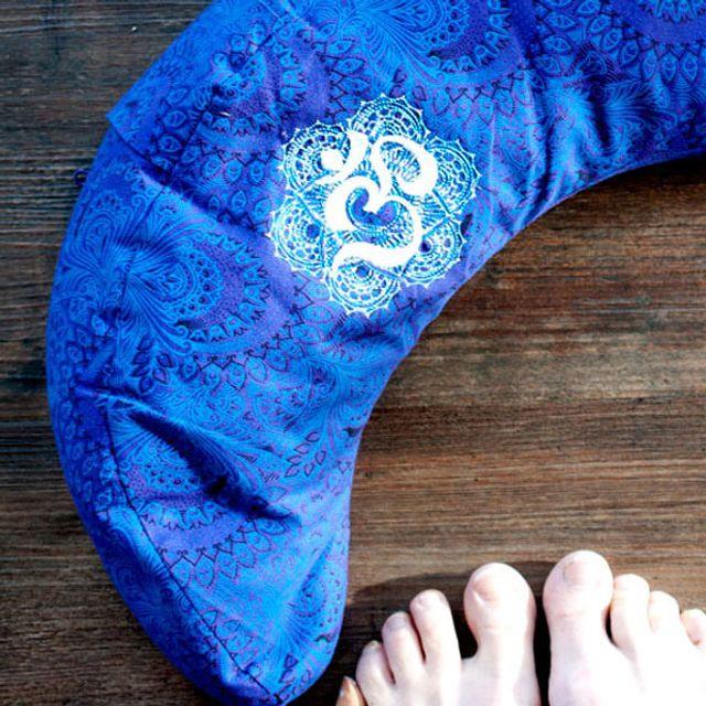 Produktfoto von The Crafting Café zum Nähen für Schnittmuster Yogakissen Halbmond Luna