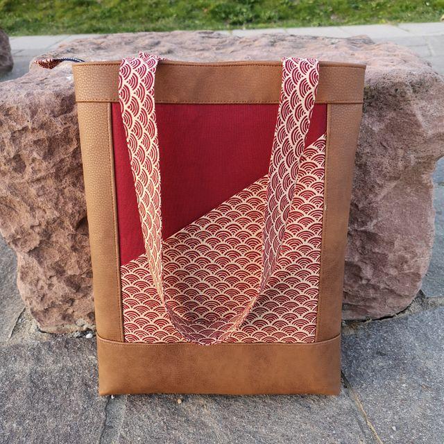 Produktfoto von Meine Schnitte.de zum Nähen für Schnittmuster Handtasche Saki