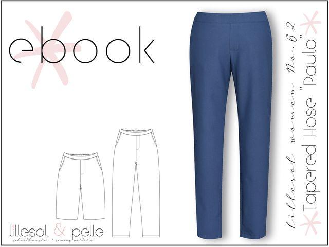 Produktfoto von Lillesol & Pelle zum Nähen für Schnittmuster Lillesol Women No. 62 Tapered Hose Paula