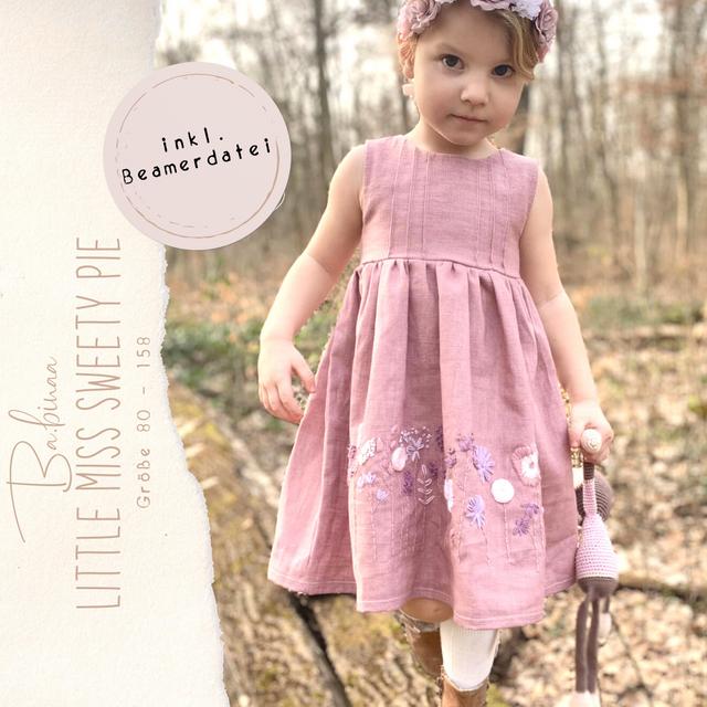 Produktfoto von Ba.binaa Patterns zum Nähen für Schnittmuster Kleid Little Miss Sweety Pie