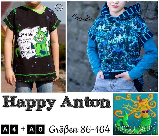 Produktfoto von Happy Pearl zum Nähen für Schnittmuster Happy Anton