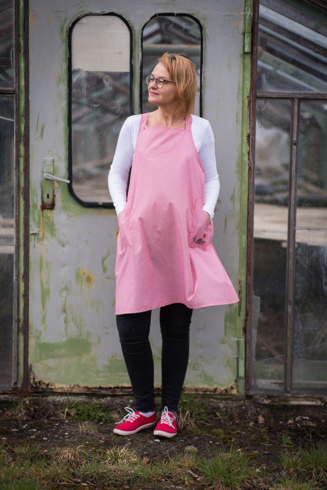 Produktfoto von Finas Ideen zum Nähen für Schnittmuster Katie - Schürze im japanischen Stil