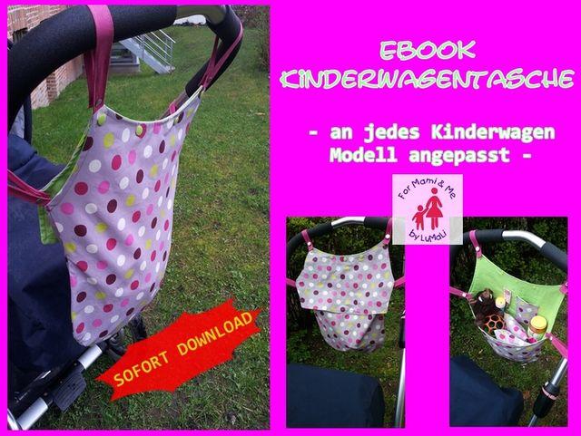 Produktfoto von Lumali zum Nähen für Schnittmuster Kinderwagentasche