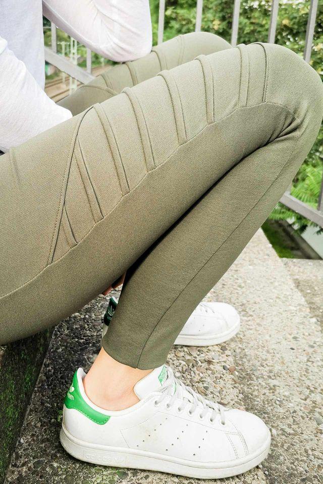 Produktfoto von Yes, Honey zum Nähen für Schnittmuster Biker Leggings #jessijames
