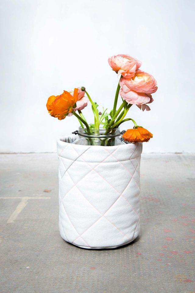 Produktfoto von Yes, Honey zum Nähen für Schnittmuster Utensilo #flowerempower