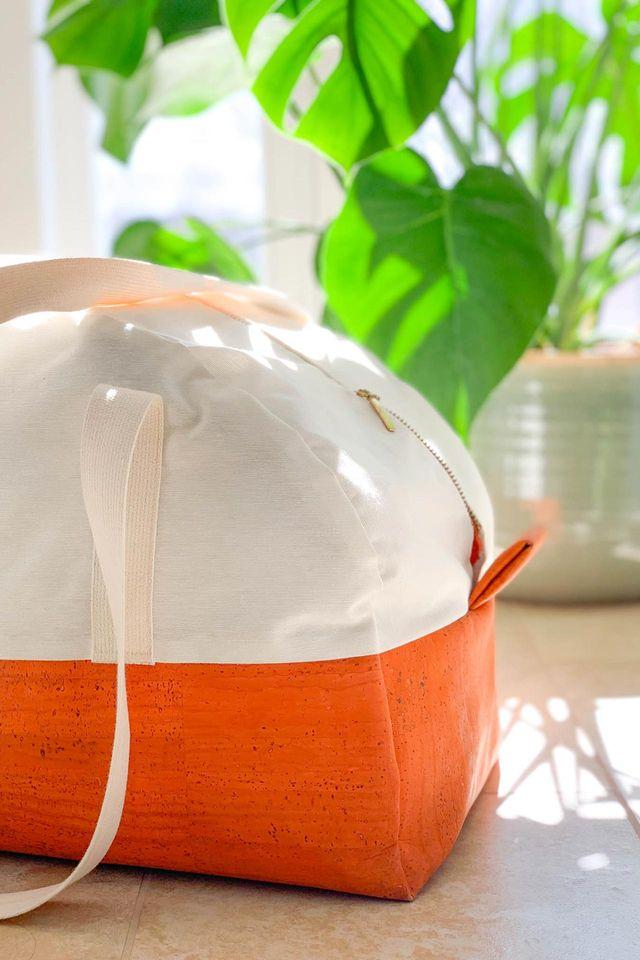 Produktfoto von Yes, Honey zum Nähen für Schnittmuster Reisetasche #bonvoyage