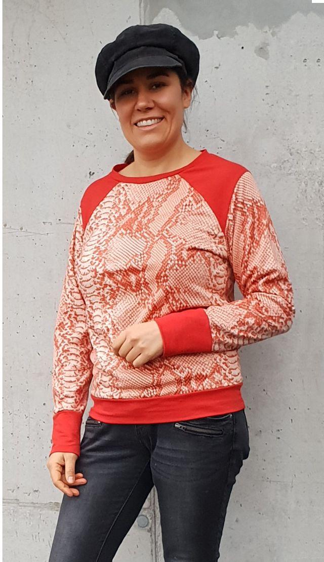 Produktfoto von K-Nähleon zum Nähen für Schnittmuster Damenpullover Peer