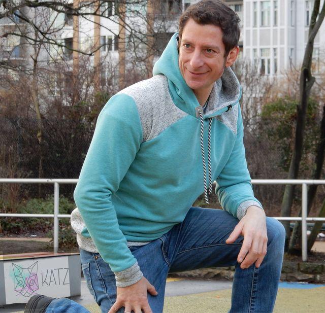 Produktfoto von K-Nähleon zum Nähen für Schnittmuster Herrenpullover Peer