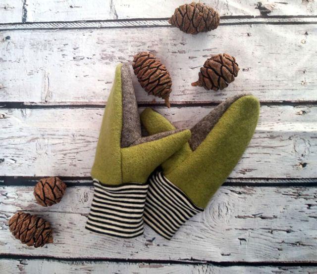 Produktfoto von K-Nähleon zum Nähen für Schnittmuster Handschuh Hendrik für Kinder
