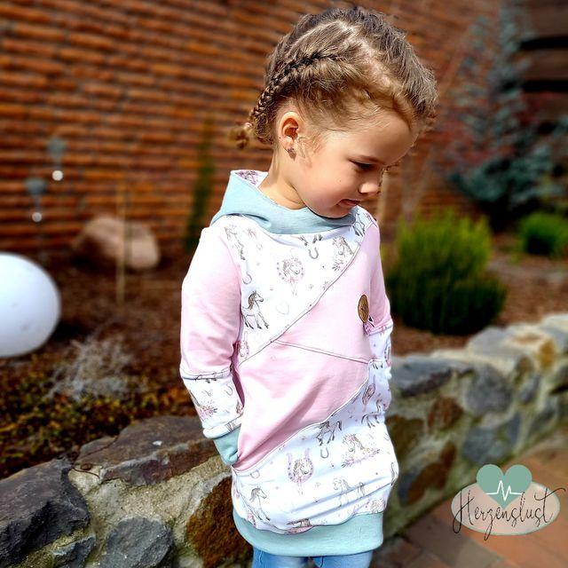 Produktfoto von Näh Bärchen zum Nähen für Schnittmuster HoodMe Up Mini