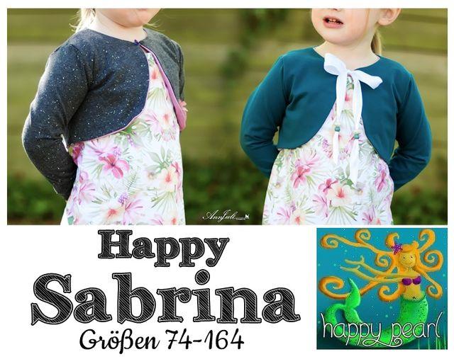 Produktfoto von Happy Pearl zum Nähen für Schnittmuster Happy Sabrina