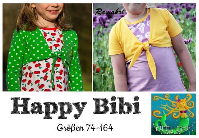 Produktfoto von Happy Pearl zum Nähen für Schnittmuster Happy Bibi