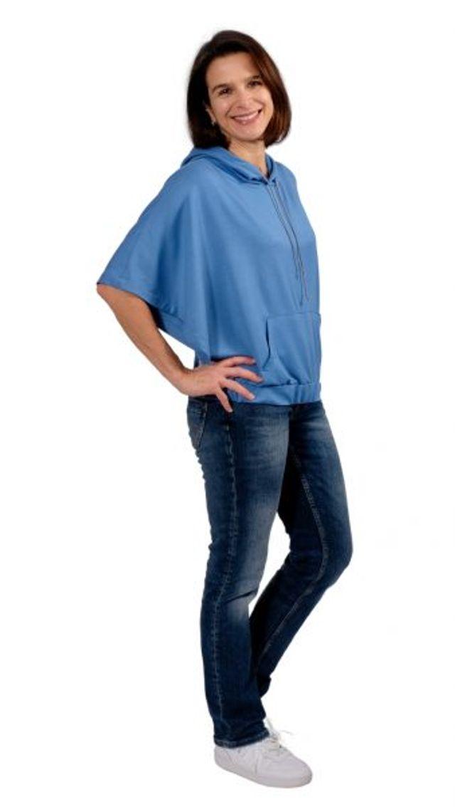 Produktfoto von Zierstoff zum Nähen für Schnittmuster Bolero-Shirt Wilka 158-46