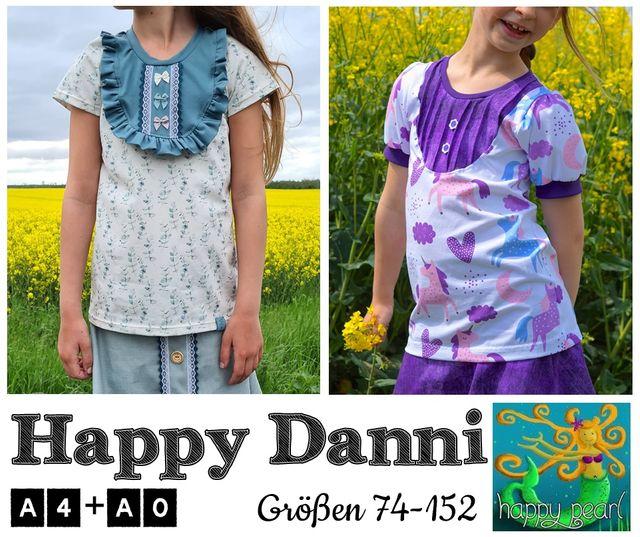 Produktfoto von Happy Pearl zum Nähen für Schnittmuster Happy Danni
