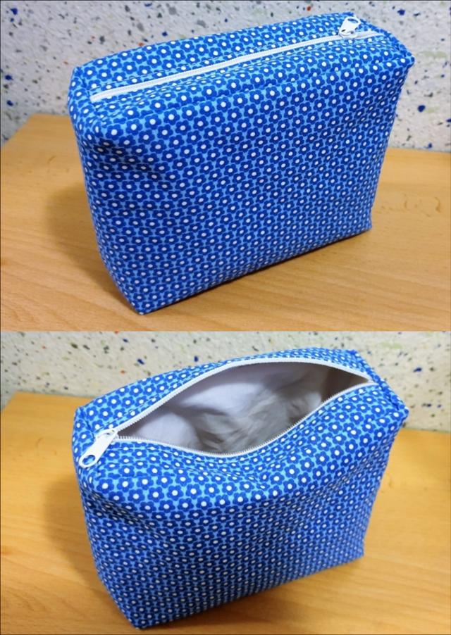 Produktfoto von Schneidermeer zum Nähen für Schnittmuster Utensilo mit Reißverschluss