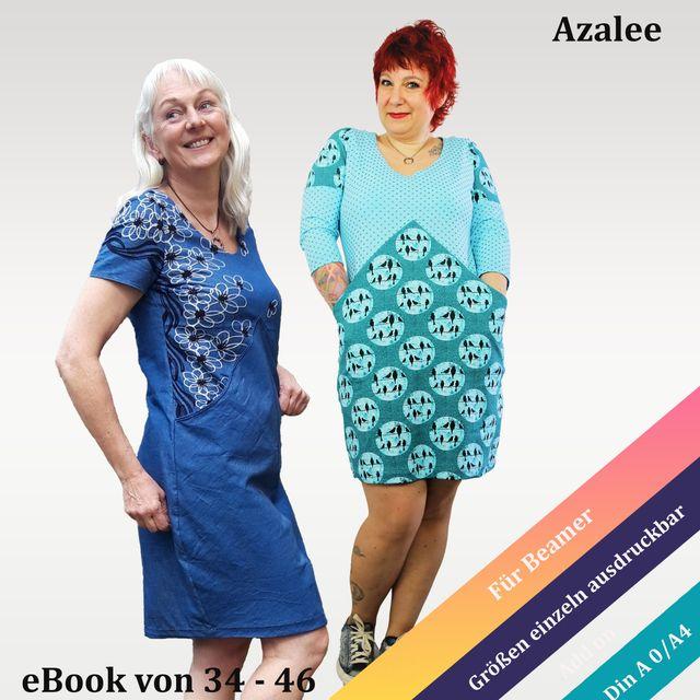 Produktfoto von Unendlich schön - Design Anita Lüchtefeld zum Nähen für Schnittmuster Ballonkleid Azalee