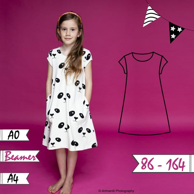 Produktfoto von Anni Nanni zum Nähen für Schnittmuster AnniNanni Elfenkleid