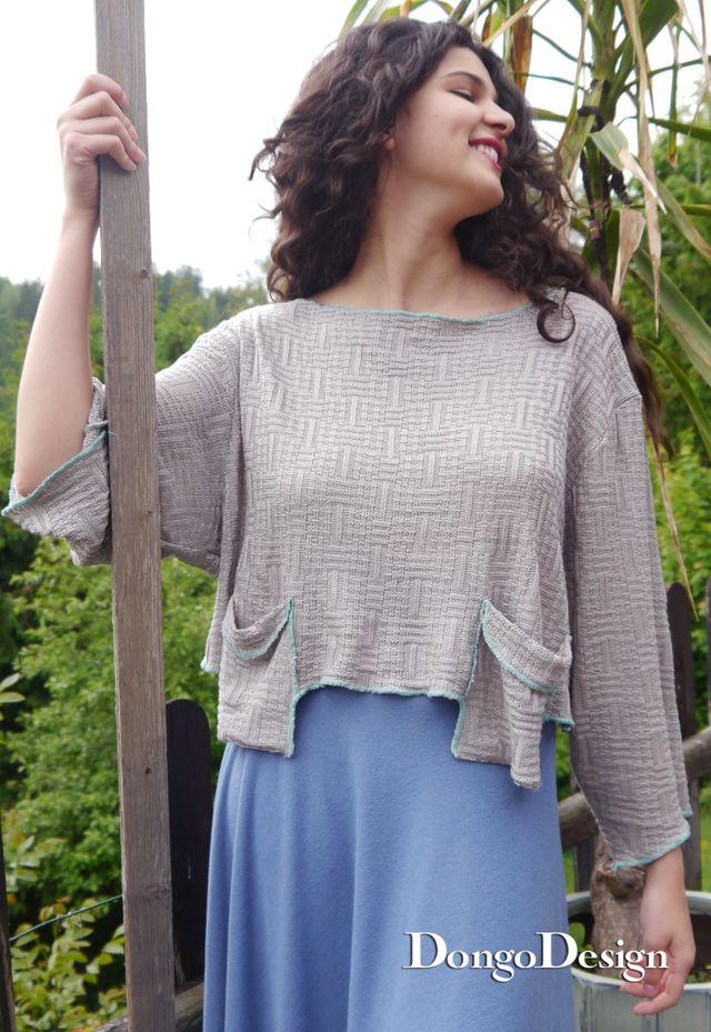 Produktfoto von DongoDesign zum Nähen für Schnittmuster Pullover Arwen