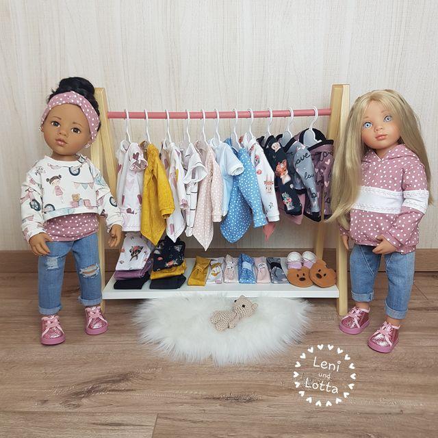 Produktfoto von Zwergnase-Design zum Nähen für Schnittmuster Dress up you doll Vol. 1