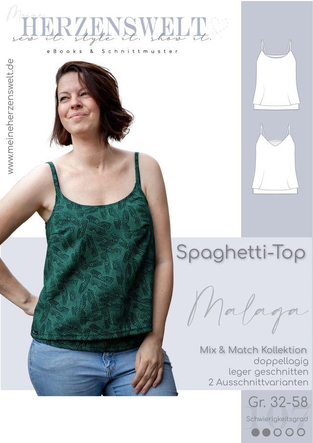 Produktfoto von Meine Herzenswelt zum Nähen für Schnittmuster Top Damen - Malaga