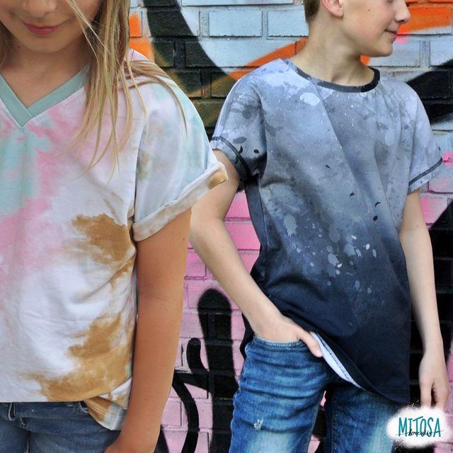 Produktfoto von MiToSa-Kreativ zum Nähen für Schnittmuster Family Shirt Kids