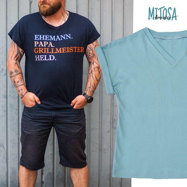 Produktfoto von MiToSa-Kreativ zum Nähen für Schnittmuster Family Shirt Herren