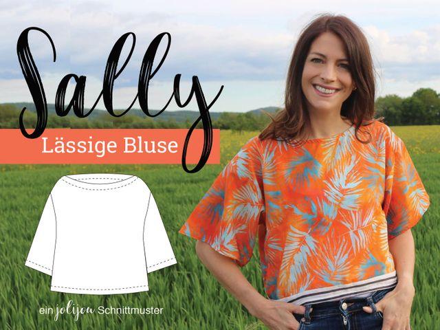Produktfoto von Jolijou zum Nähen für Schnittmuster Bluse Sally