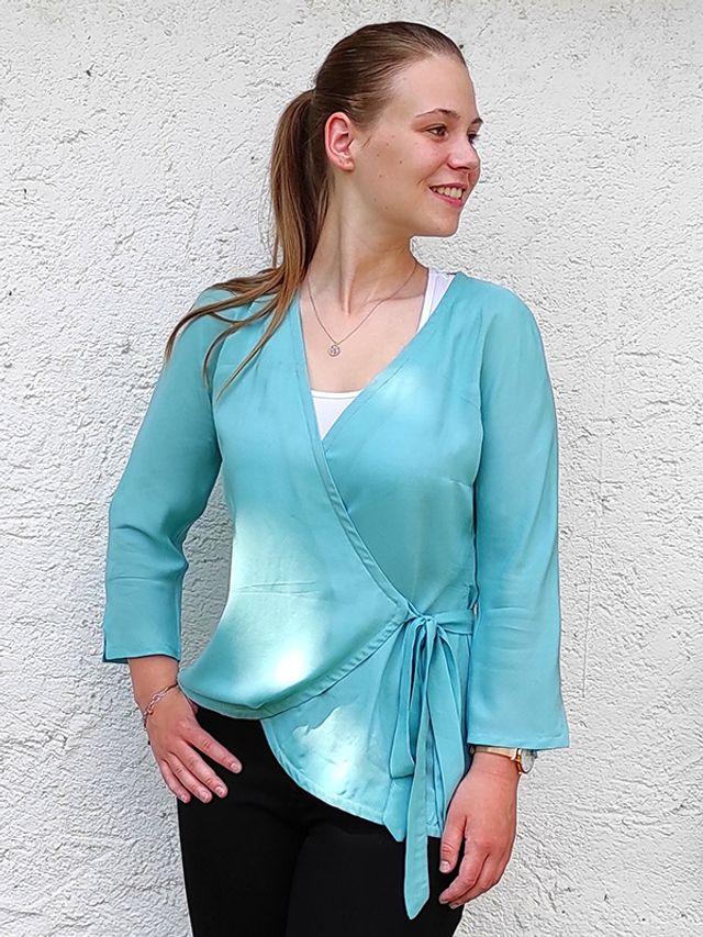 Produktfoto von SchnittmusterLounge zum Nähen für Schnittmuster Bluse Oceanne