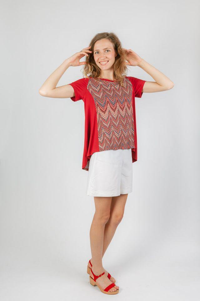 Produktfoto von Schnittmuster Berlin zum Nähen für Schnittmuster T-Shirt Käthe