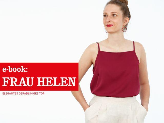 Produktfoto von STUDIO SCHNITTREIF zum Nähen für Schnittmuster Frau Helen