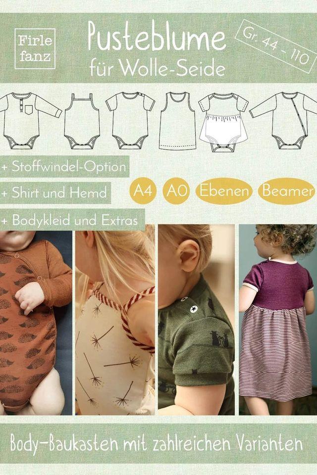 Produktfoto von Firlefanz zum Nähen für Schnittmuster Pusteblume für Wolle-Seide