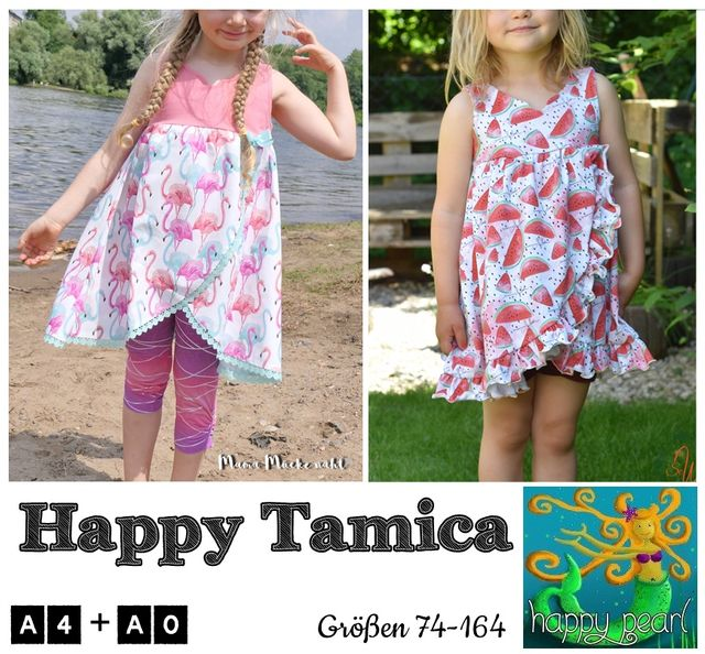 Produktfoto von Happy Pearl zum Nähen für Schnittmuster Happy  Tamica