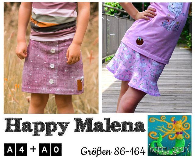 Produktfoto von Happy Pearl zum Nähen für Schnittmuster Happy Malena