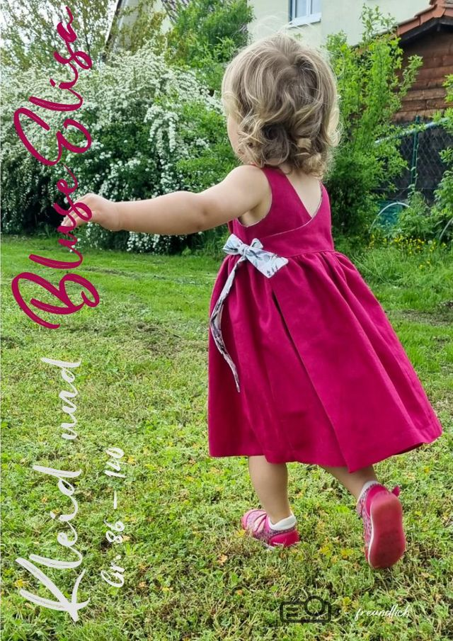 Produktfoto von MamisLiebenNähen zum Nähen für Schnittmuster Kleid Elisa