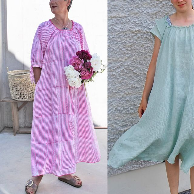 Produktfoto von B-Patterns zum Nähen für Schnittmuster Sommerkleid Jasmin_B