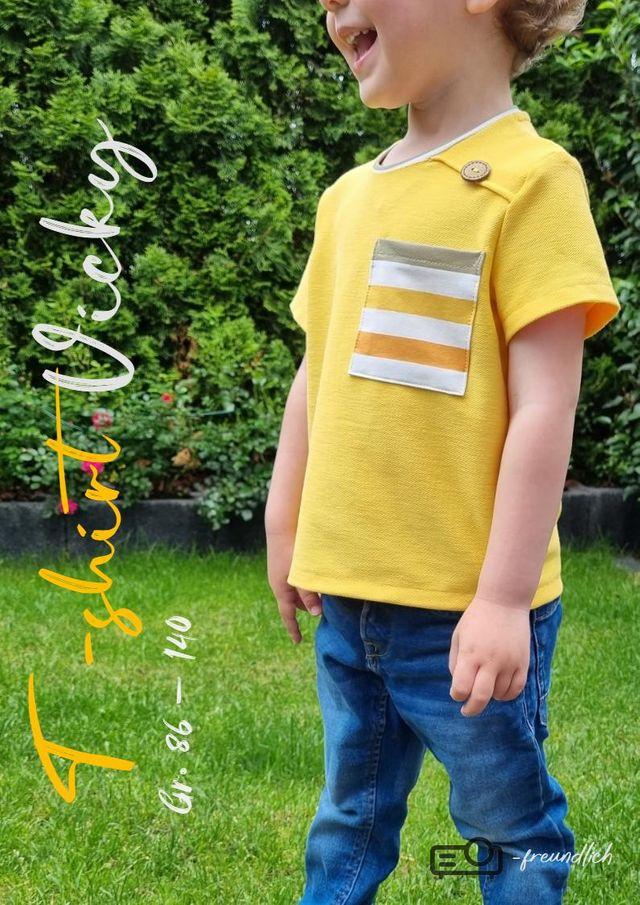 Produktfoto von MamisLiebenNähen zum Nähen für Schnittmuster T-Shirt Vicky