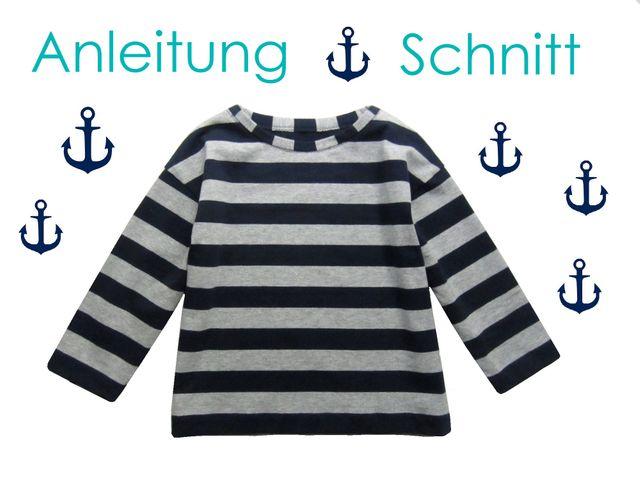 Produktfoto von Lunicum zum Nähen für Schnittmuster U-Boot-Shirt