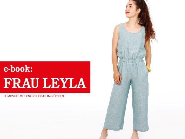 Produktfoto von STUDIO SCHNITTREIF zum Nähen für Schnittmuster Frau Leyla