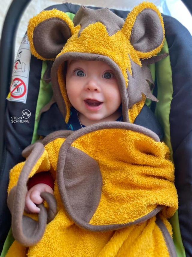 Produktfoto von Cjiela zum Nähen für Schnittmuster Babydecke Salomé