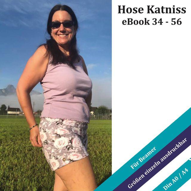 Produktfoto von Unendlich schön - Design Anita Lüchtefeld zum Nähen für Schnittmuster Hose  Katniss