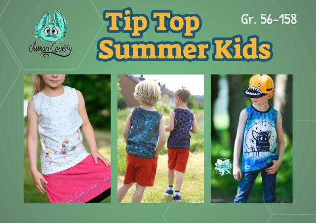 Produktfoto von Annas-Country zum Nähen für Schnittmuster Tip Top Summer Kids