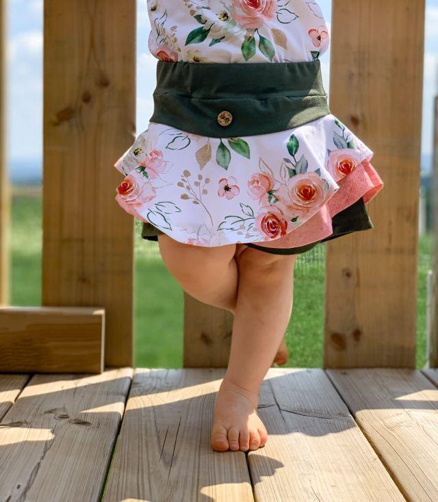 Produktfoto von FrleinFaden zum Nähen für Schnittmuster Hosendrehrock 68-98
