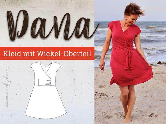 Produktfoto von Jolijou zum Nähen für Schnittmuster Kleid Dana