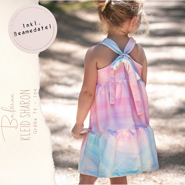 Produktfoto von Ba.binaa Patterns zum Nähen für Schnittmuster Kleid/Top Sharon