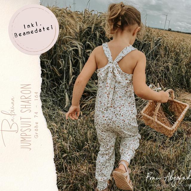 Produktfoto von Ba.binaa Patterns zum Nähen für Schnittmuster Jumpsuit  Sharon
