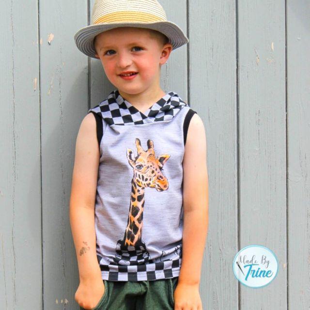 Produktfoto von K-Nähleon zum Nähen für Schnittmuster Sommertop Safari