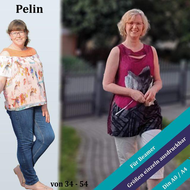 Produktfoto von Unendlich schön - Design Anita Lüchtefeld zum Nähen für Schnittmuster Shirt/Top Pelin
