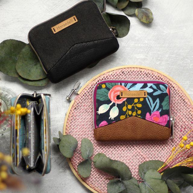 Produktfoto von Hansedelli zum Nähen für Schnittmuster Geldbörse Mini Mynta