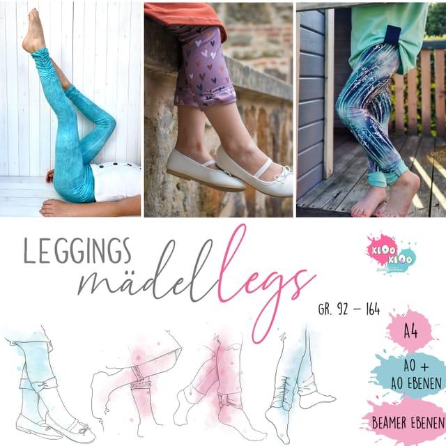 Produktfoto von kiOo kiOo zum Nähen für Schnittmuster Leggings Mädel Legs